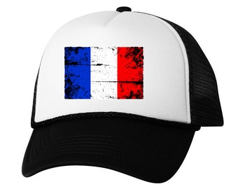 59c00dd9f94 France Flag Trucker Hat France Hats for Men and Women French Football Cap  France Soccer Gifts France 2018 Snapback Hat Gifts from France