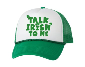 Talk Irish to Me. Irish Hats for St. Patrick s Day Gifts d0c6620c517