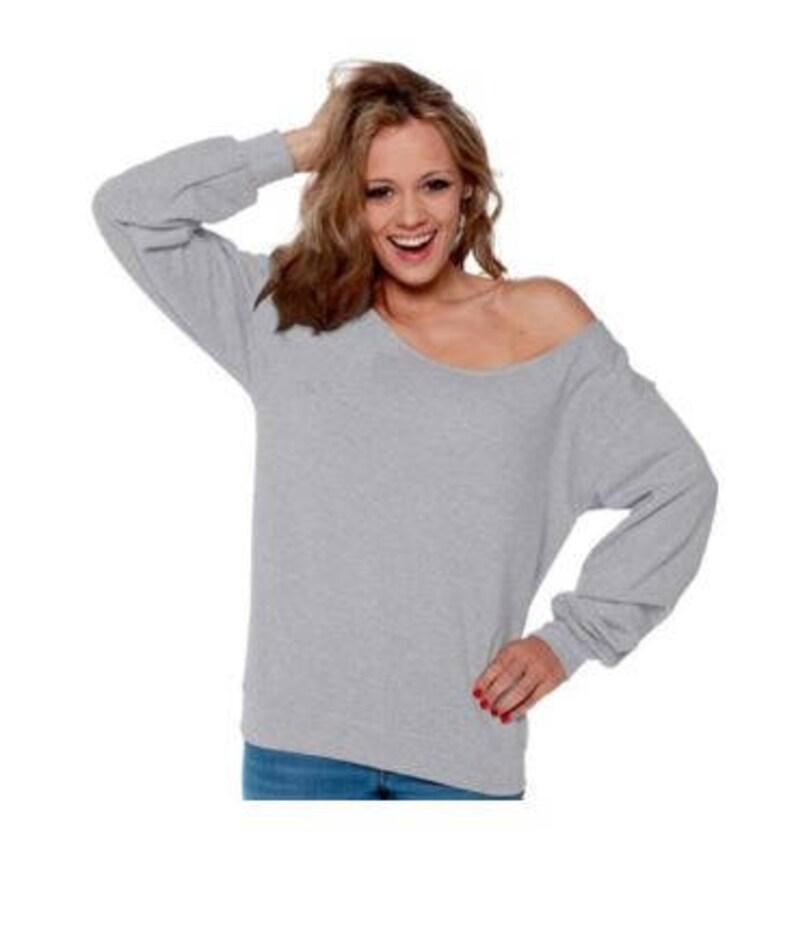 982a7dadf Off Shoulder Sweatshirt Off Shoulder Top Off Shoulder Sweater