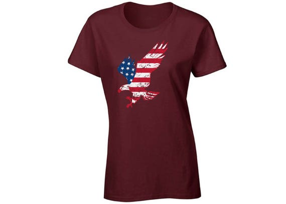 USA Flag Youth Kids T shirt Tops Patriotic 4th of July Independence Day