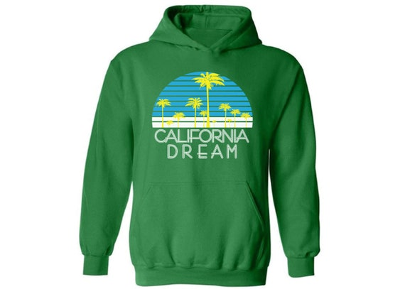 California bear hoodie sweatshirt cali flag hooded sweatshirt for men
