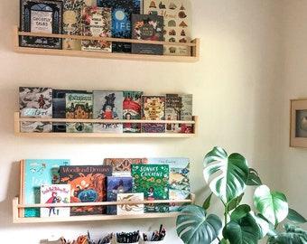 Nursery Bookshelf, Nursery Shelves, Children's Bookshelves, Floating Shelves, Bookshelves, Kid's Bookshelf, Nursery Decor, Nursery Room