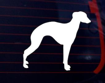 Greyhound Decal, Greyhound Sticker, Greyhound Gifts, Greyhound Art, Dog Decal, Pet Decal, Dog Lover Gift, Car Window Sticker, Dog Decor