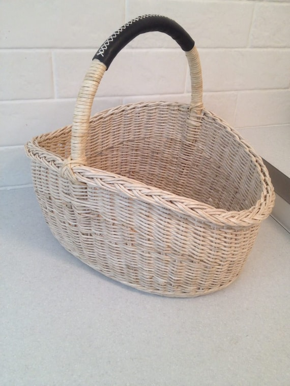 Decorative Storage Handmade Gifts Storage Baskets Vintage Baskets Open Basket Bohemian Basket Cute Basket Basket With Handle