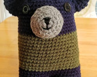 Crochet Teddy Bear Stuffy