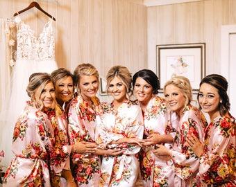 dea24989e0 Personalized Bridal Party Robes by LavishRobes on Etsy