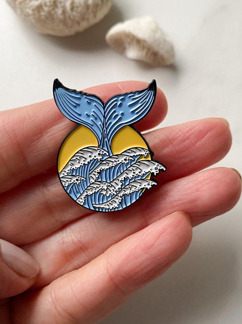 Brooch Ocean Brooch For Daughter Bestie Gift Pins Tween Gift For Little Girl For Teacher For Her Heart Unique Brooches