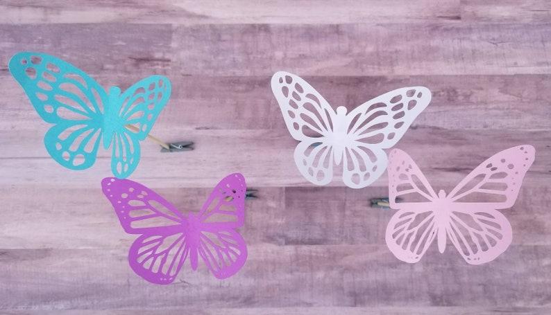Butterfly Centerpiece Picks Table