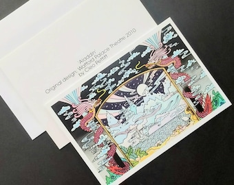 British framing Dick Whittington Craft art suppl collecting. Christmas Pantomime unused mint stamps set 1985