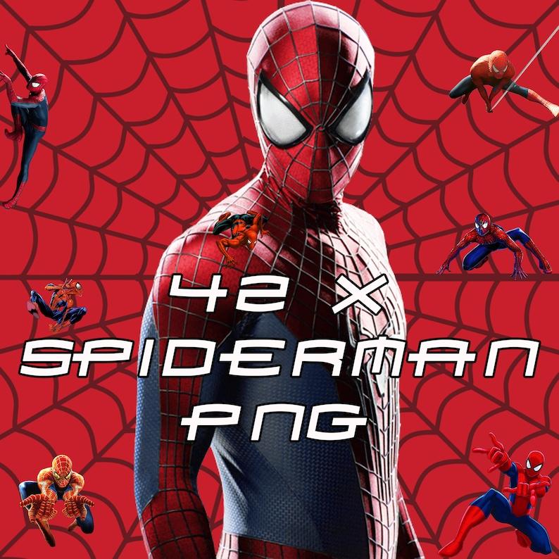Spiderman Clip Art Birthday Invitation Party