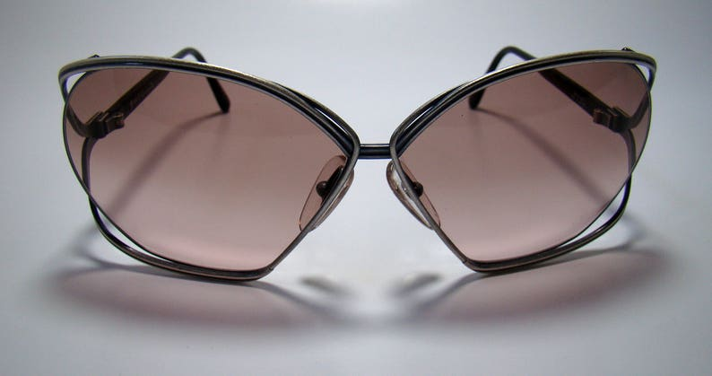 305b985c6ad7 Vintage 80s Christian Dior Sunglasses glasses 2499 Silver