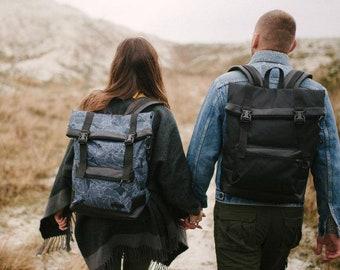 4305576f7e Black laptop backpack