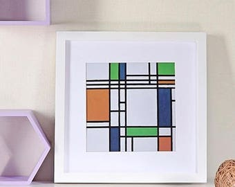 6x6, 7x7, 8x8, 10x10 Square photo frame, wooden photo frame, square picture frame