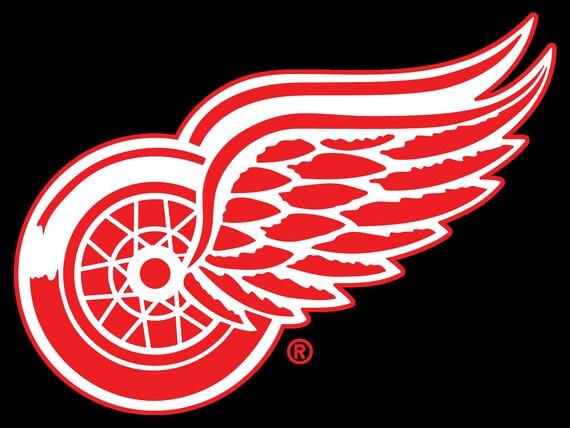 Detroit Red Wings Cross Stitch Pattern Nhl Cross Stitch Etsy