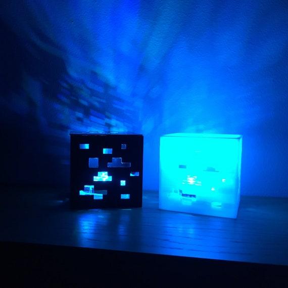 Minecraft Inspiriert Lampe Moderne Tischlampe 7cm