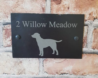 Hanging Dog Welcome Sign With Animal Garden Door Gate Wall Plaque Home New