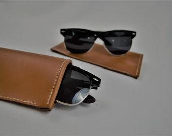 ff04bc4285f Leather Eyeglass Sleeve