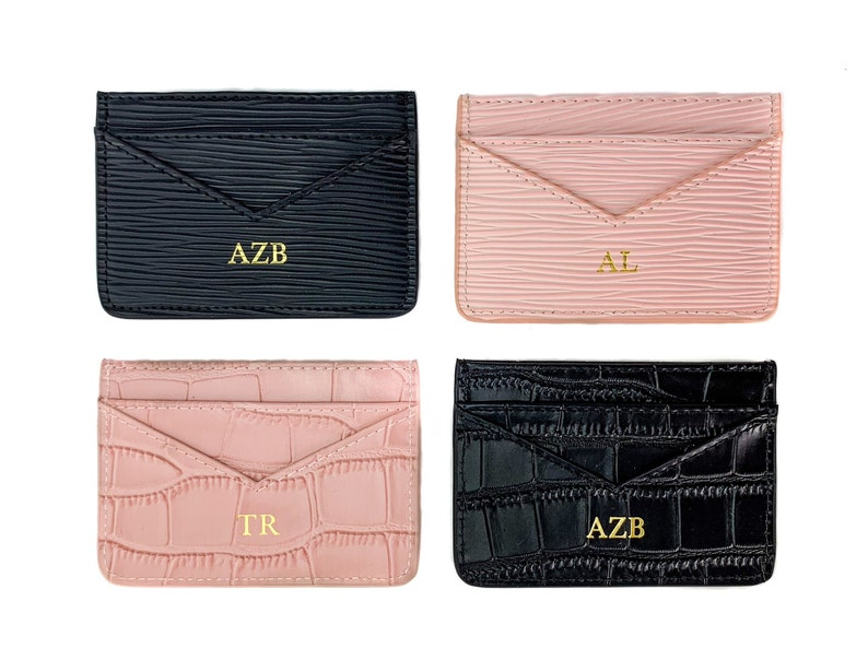 big sale 7400d abe43 Personalized Leather Card Holder, Personalised Card Holder, Business Card,  Customized Card Case,Bespoke Leather Card, 3rd anniversary gift,