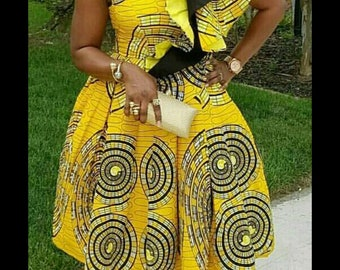 African Print Dress Etsy,Corset Top Wedding Dress