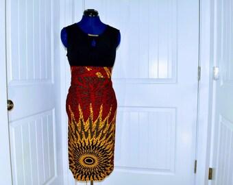 06b7084e1e Ankara pencil skirt,African prints skirt,African fabric skirt,African  clothing straight skirt,African wax skirt.