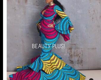 d2f34408e96b8 African women dress for prom/African clothing/ Ankara dress/offshoulder  dress for weddings/HT900/African maternity dress