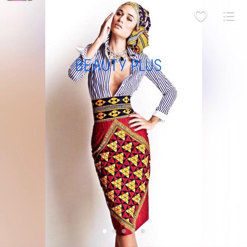 Ankara pencil skirt,African prints skirt,African fabric skirt,African clothing straight skirt,African wax skirt.