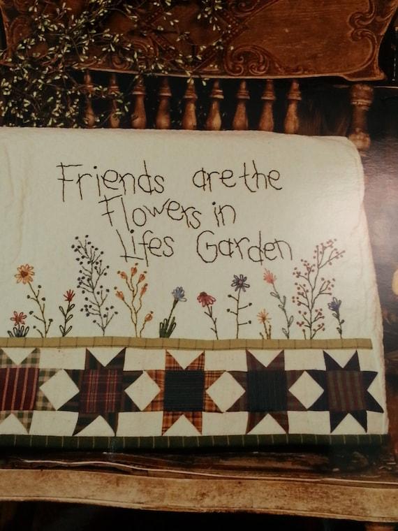 Nähmaschine Abdeckung Muster Stickerei Quilten Wildblumen | Etsy