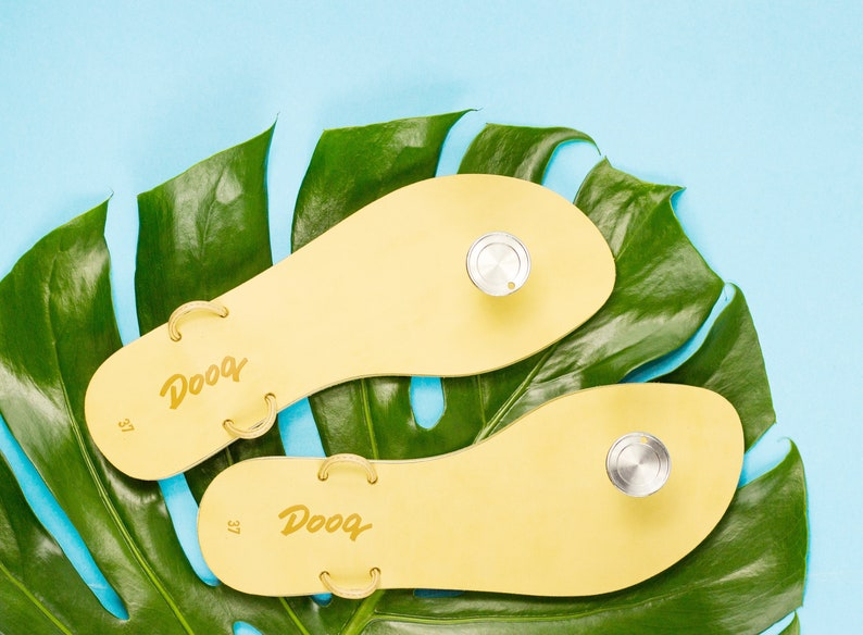 a86ba2844e1d Create Your Own Sandals Regenerated Leather Soles Dooq