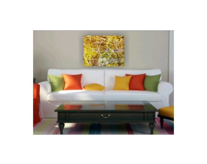 Abstract painting, layered painting, shapes, color combo, acrylics on canvas, original abstract painting