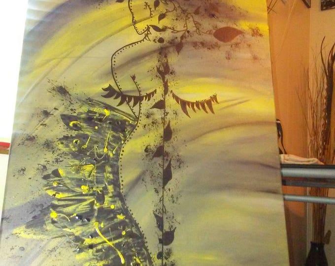 """Dream Big- 18""""×24"""" canvas art"""