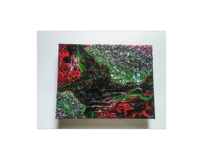 """Africa's Geode Collection- 11""""×14"""" Ready-to-hang canvas artwork"""