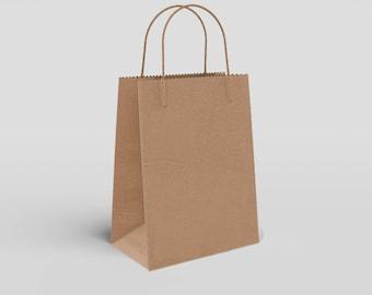 Bolsa Papel Kraft Premium Con Asa