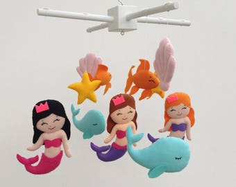 Baby Mobile Baby Mobile Mermaid Under The Sea Mobile