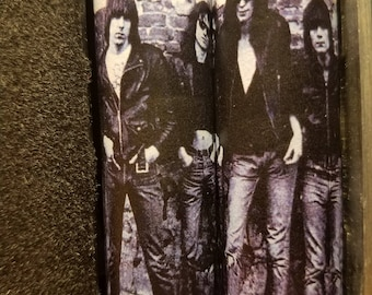 One Pair of 18650 Custom Battery Wraps - The Ramones