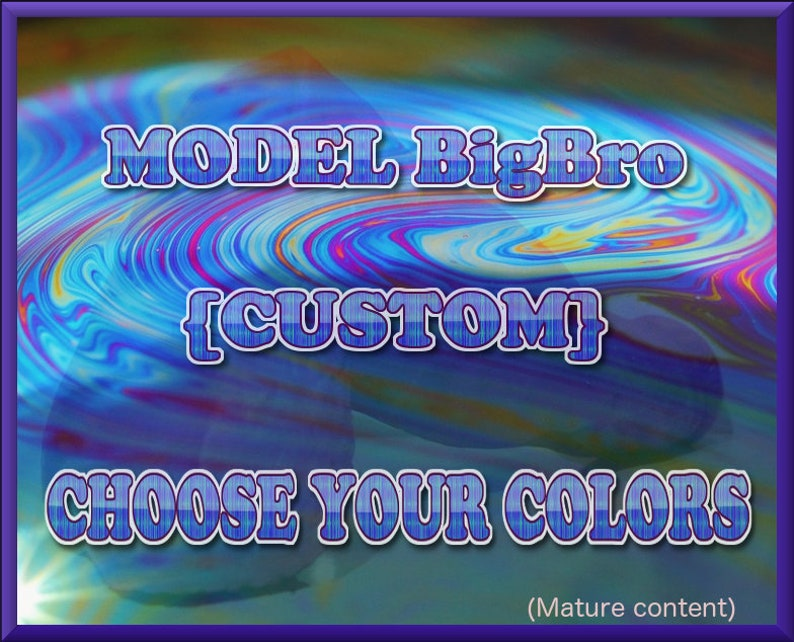 Mature  Model BigBro CUSTOMErotic Art silicone image 0