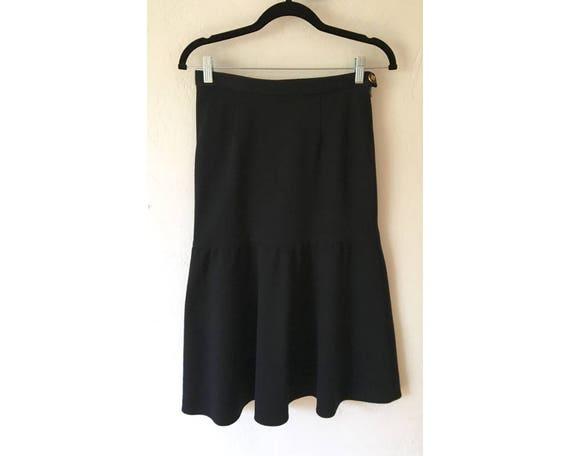 Sonia Rykiel Skirt/ Vintage Skirt/ Wool Skirt/ Ruf