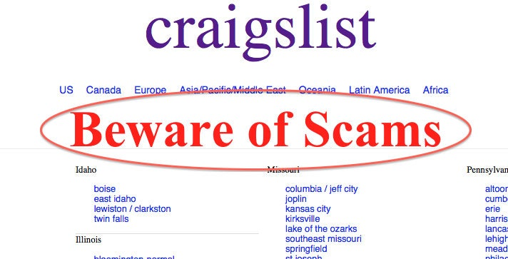 34 Real Estate Tips Craigslist Classified Housing Posting Ads to Avoid The  Scams