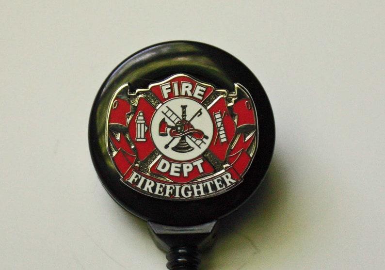 Fire Department Badge Reel
