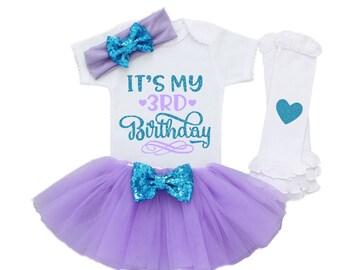 6eefff9849921 3rd Birthday Outfit Girl, Third Birthday Outfit Girl, Three Birthday Outfit,  It's My 3rd Birthday, 3 Birthday Shirt, 3rd Birthday Outfit