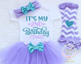It's My 2nd Birthday, Second Birthday Outfit Girl, 2nd Birthday Girl Outfit, 2nd Birthday Outfit Girl, 2 Birthday Outfit, Birthday Girl BS26
