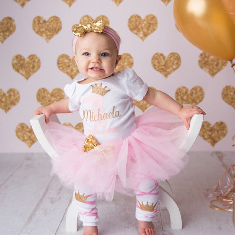 1st Birthday Outfit Girl.Personalized First Birthday Outfit Girl 1st Birthday Girl Outfit Girl First Birthday Outfit 1st Birthday Girl Cake Smash Birthday Outfit