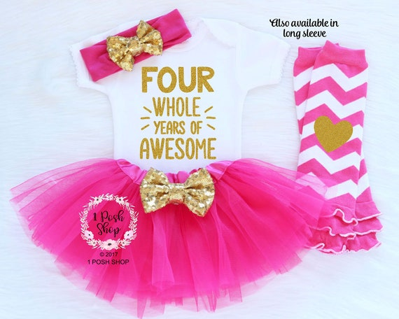 Rainbow Candyland Candy 4th Fourth Birthday Tutu Outfit Shirt Set Party Dress