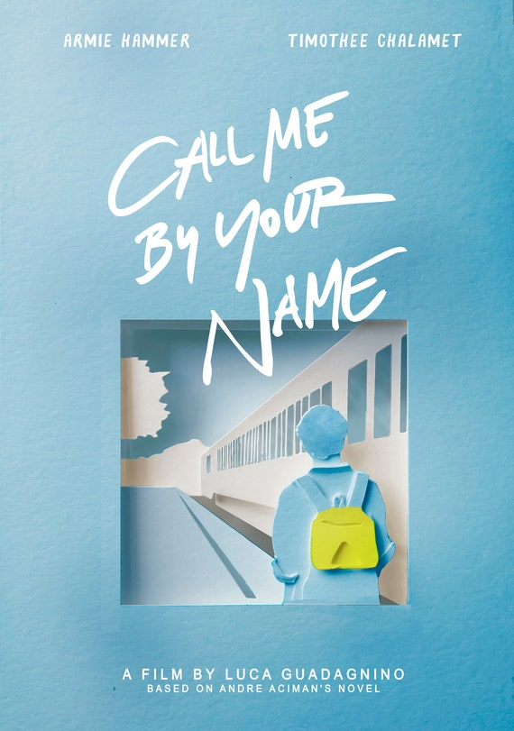 Call Me By Your Name Alternative Movie Posters Instant Etsy