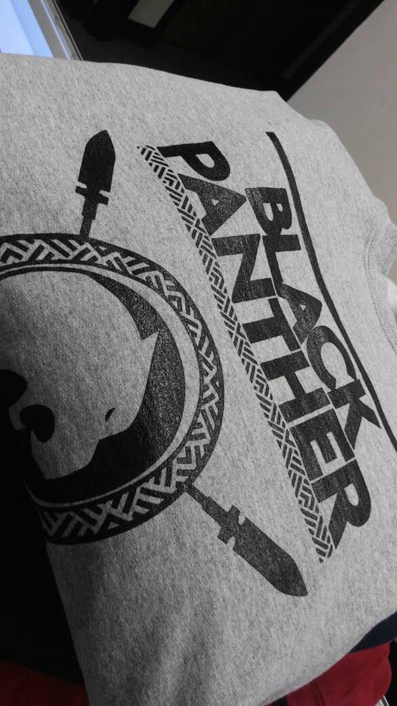 King of Wakanda Black Panther Men/'s Crewneck Sweatshirt