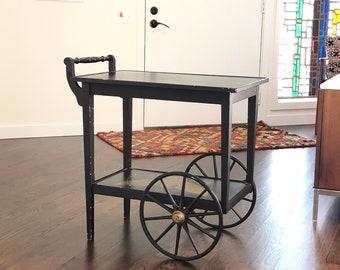 Mid Century Vintage Bar Cart