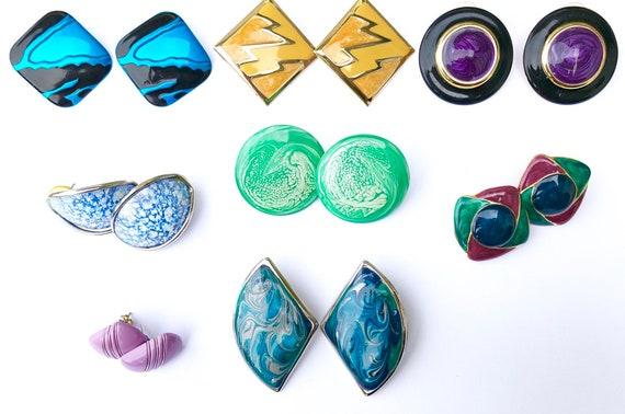Vintage earrings, vintage earrings set, vintage ea
