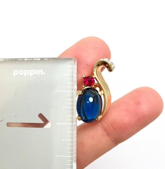 1940's Trifari earrings clip on, vintage trifari … - image 2