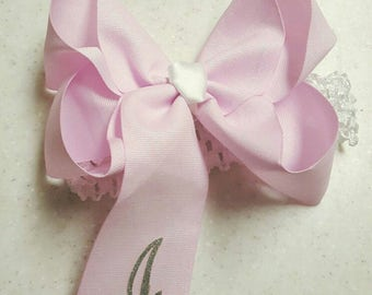 Personalized Southern Boutique Bow