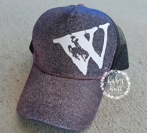 Official licensed Wyo gear/wyoming hat/flying w/wyoming state hat/wyoming  woman hat/women/adjustable wyoming hat/wyoming pride/wyo gear