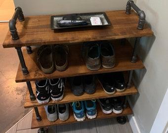 Shoe rack - Bookcase